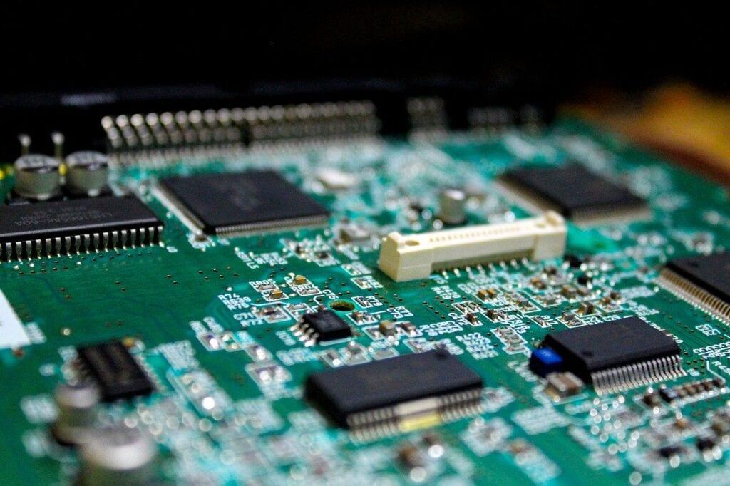 electronics, pcb, processor